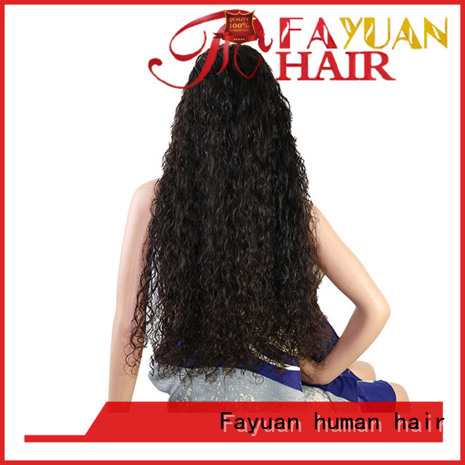 Fayuan Latest custom virgin wigs for business for barbershop