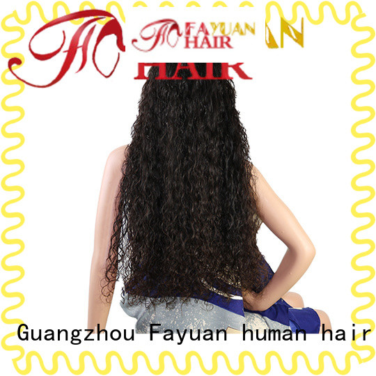 Fayuan holiday custom wigs for black hair manufacturers for women