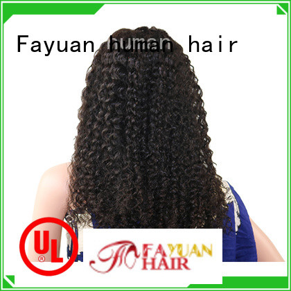 Fayuan custom Lace Frontal Wig manufacturer for selling