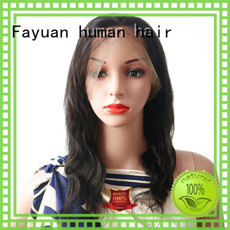 High-quality affordable human hair lace wigs women company for barbershop