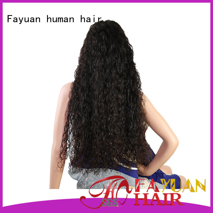 Fayuan holiday custom made wigs online company for street