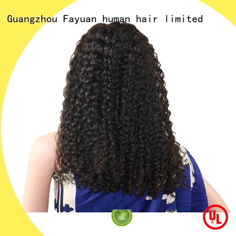 Fayuan xmas indian hair lace front wig Supply for selling