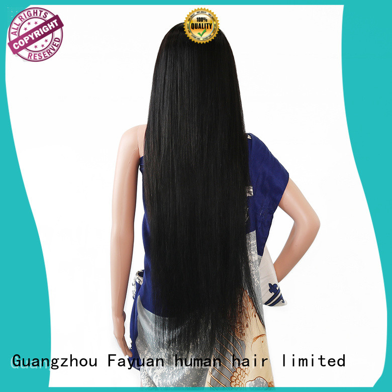 Fayuan wave custom made lace front wigs manufacturers for women