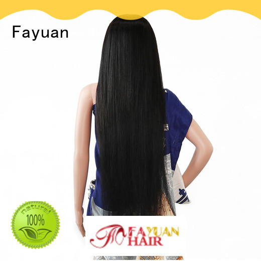 Fayuan Latest custom wig makers company for women