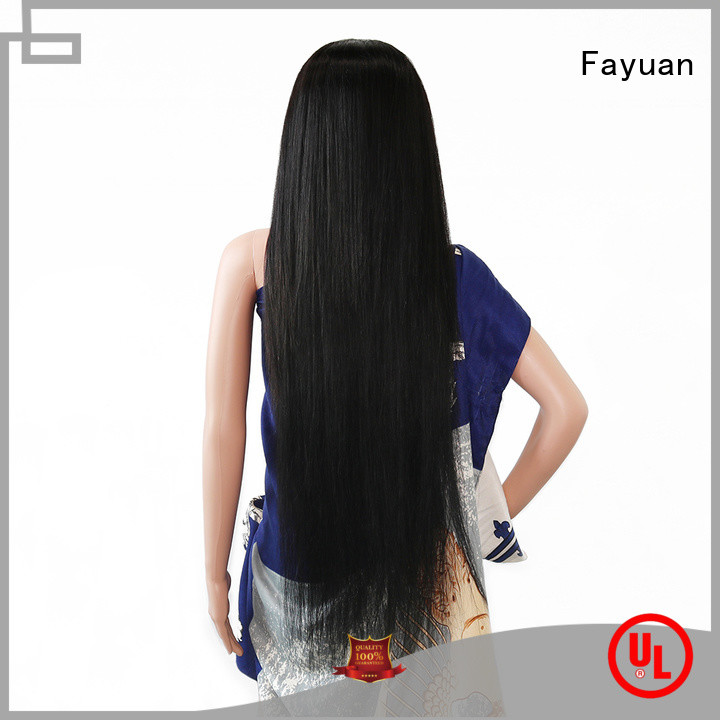 Fayuan Best custom human hair lace front wigs company for barbershop