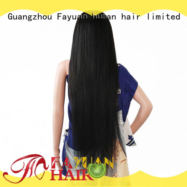 Fayuan Latest custom made toupee manufacturers for women
