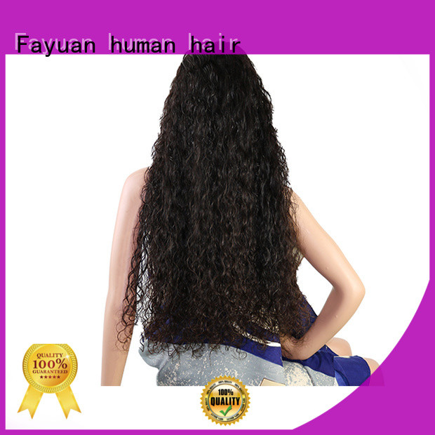 Fayuan frontal custom color full lace wigs company for women