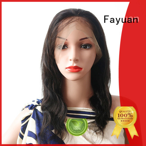 Fayuan wigs best lace wigs manufacturers for street