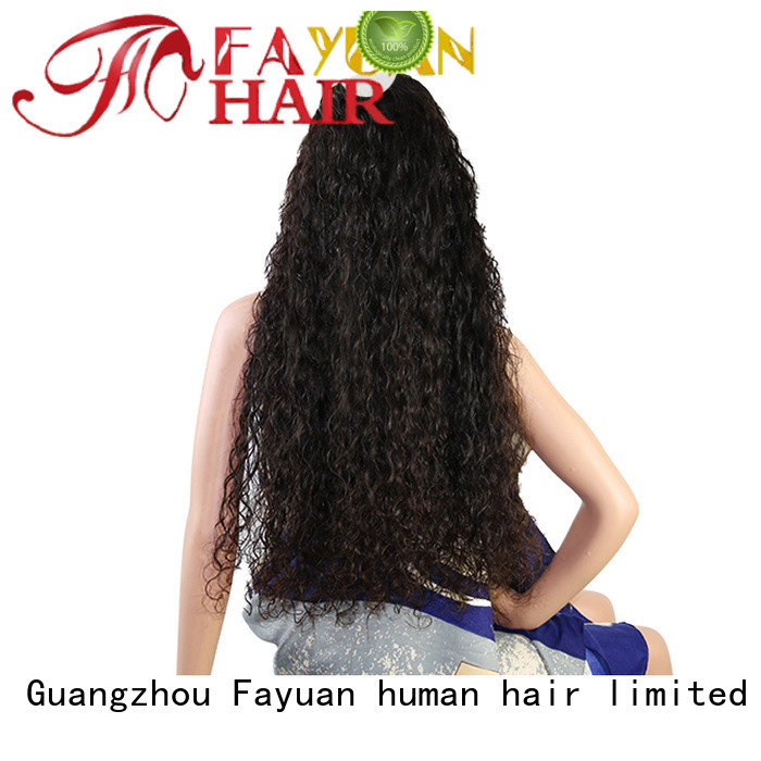 Fayuan wig custom full lace human hair wigs for business for women