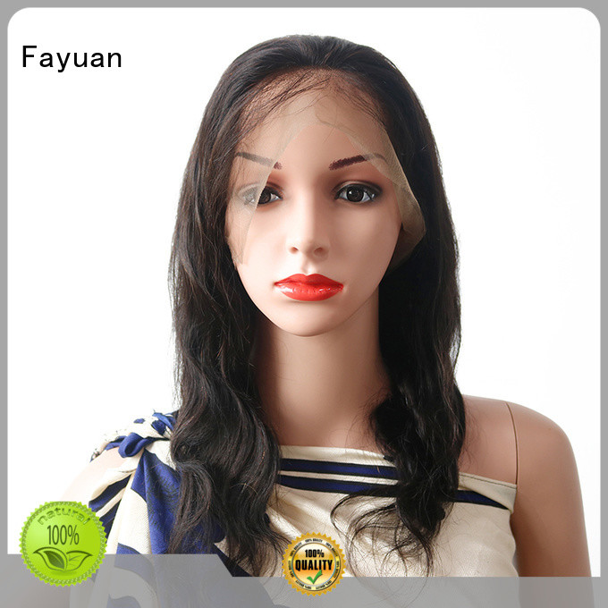 Full Lace Wig online for men Fayuan