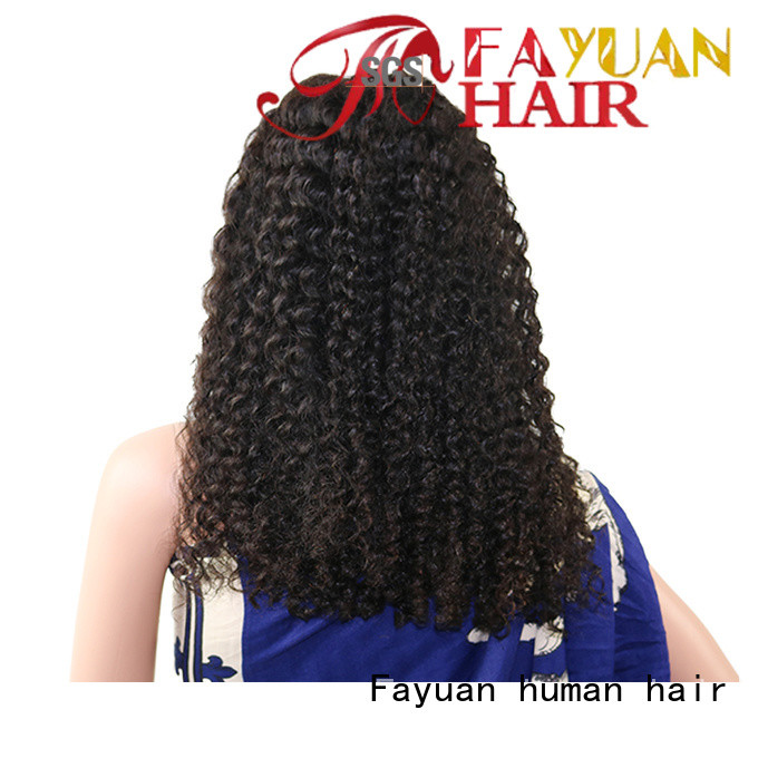 Fayuan xmas discount lace front wigs human hair Suppliers for selling