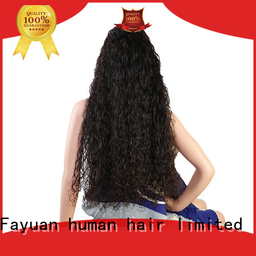 Fayuan virgin custom wigs for sale factory for selling
