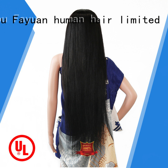 Fayuan wave custom made full lace wigs Suppliers for street