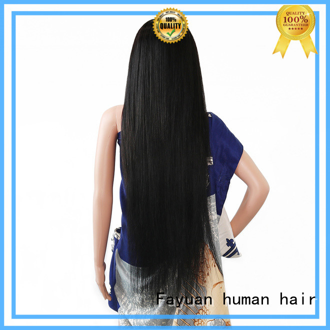 Fayuan Top custom made full lace human hair wigs company for men