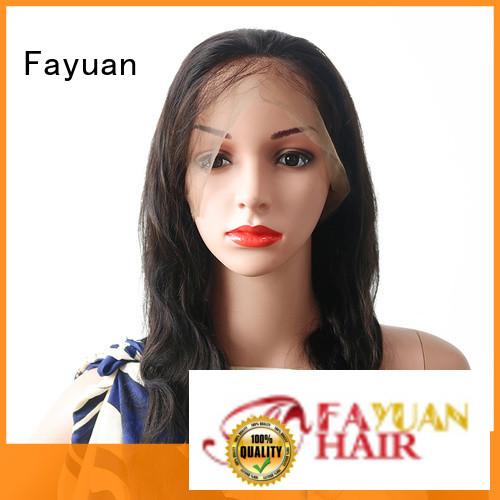 Fayuan online Full Lace Wig wholesale for men