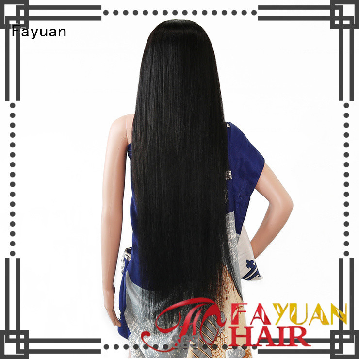 Fayuan human custom full lace wigs Suppliers for selling