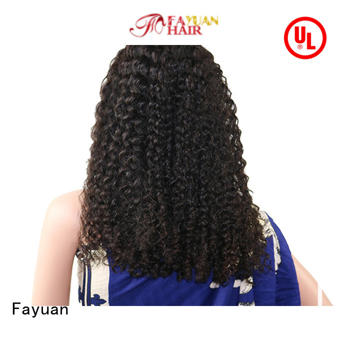 Fayuan High-quality human hair lace wigs manufacturers for street