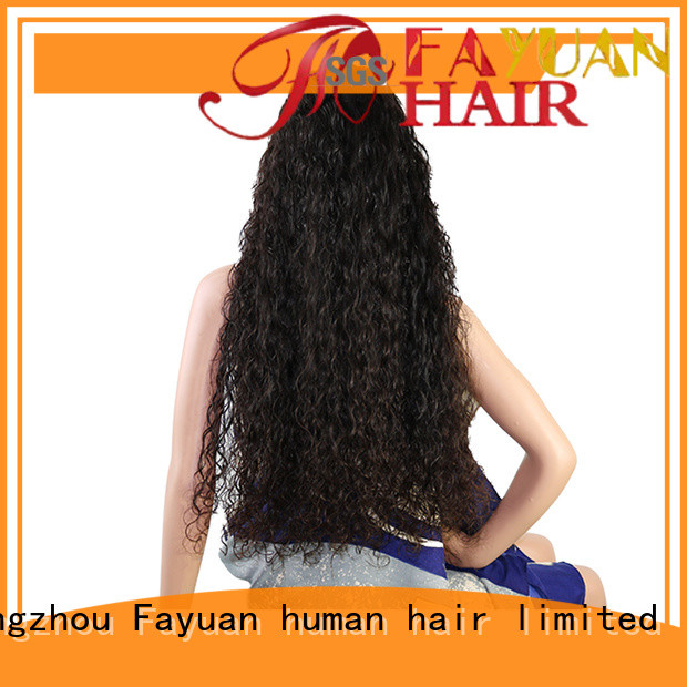 Fayuan frontal custom wig makers Supply for street