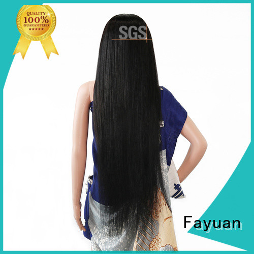 Fayuan lace custom full lace wigs manufacturers for barbershop