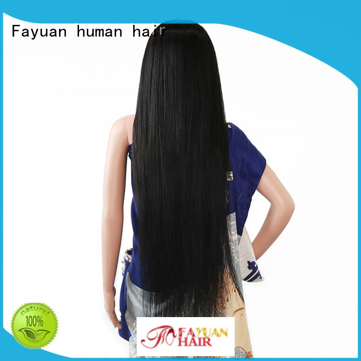 Fayuan Wholesale custom made lace front wigs Supply for selling