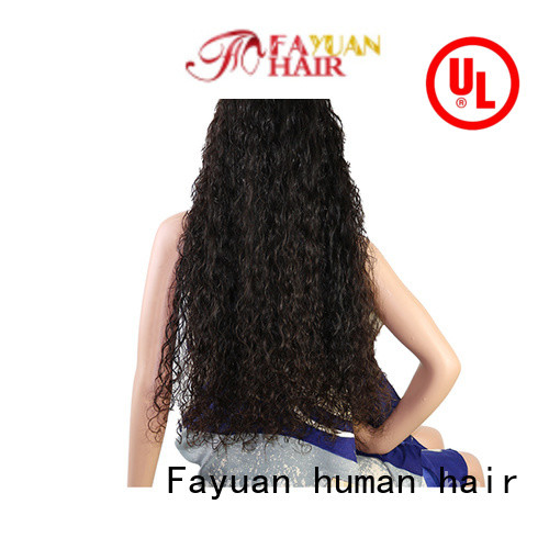 Fayuan Top custom human hair lace front wigs Suppliers for men