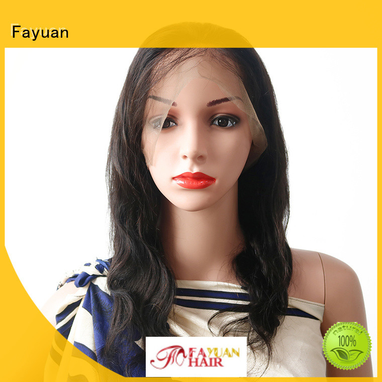 Latest black full lace wig virgin manufacturers for women