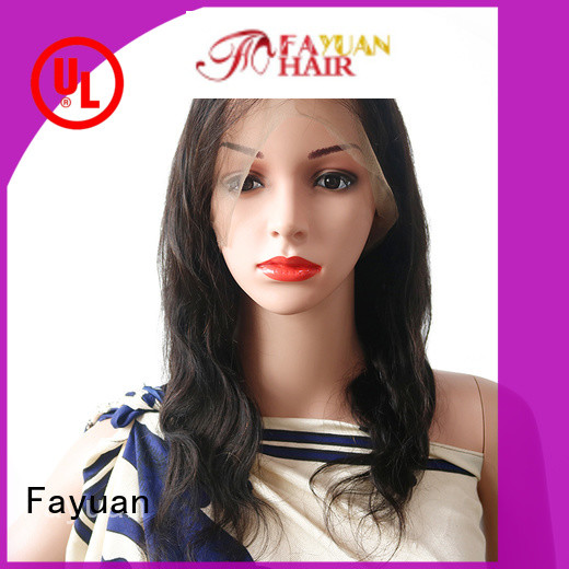 Fayuan Top short full lace wigs company for women