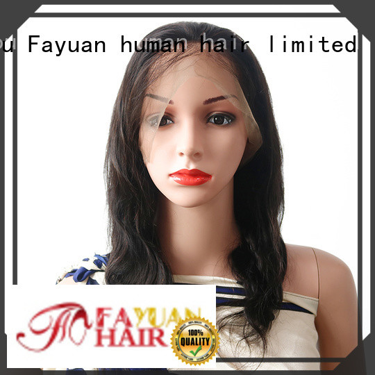 Fayuan black best cheap full lace wigs Supply for women