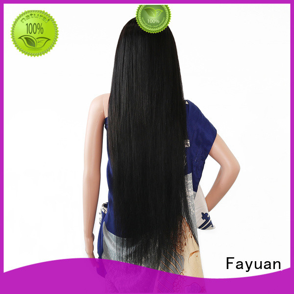 Fayuan wave custom lace wigs for business for men