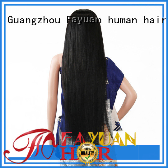 Fayuan Custom custom made human hair wigs factory for selling