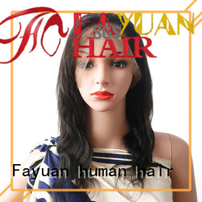 Fayuan hair lace wig with bangs company for women