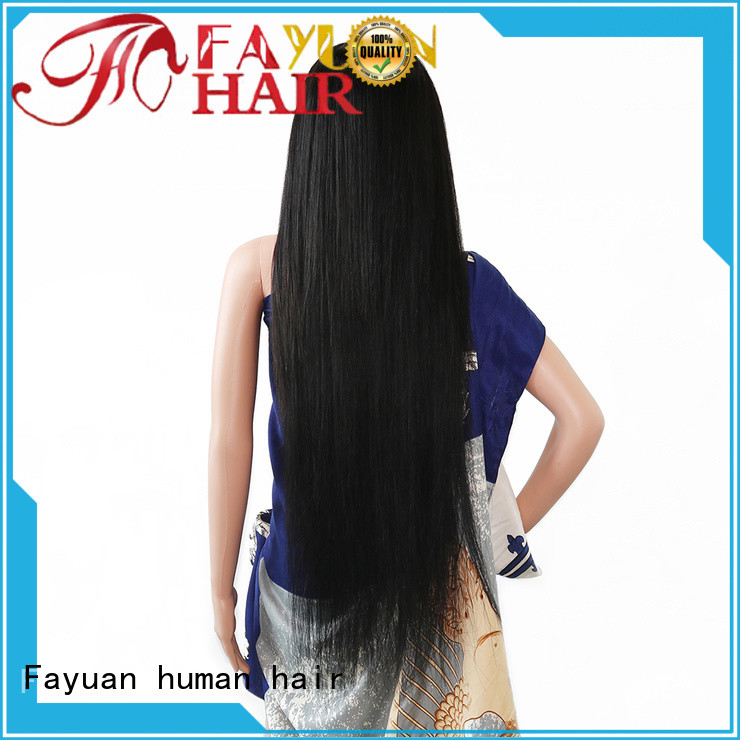 Fayuan Wholesale custom made full lace human hair wigs Suppliers for barbershop