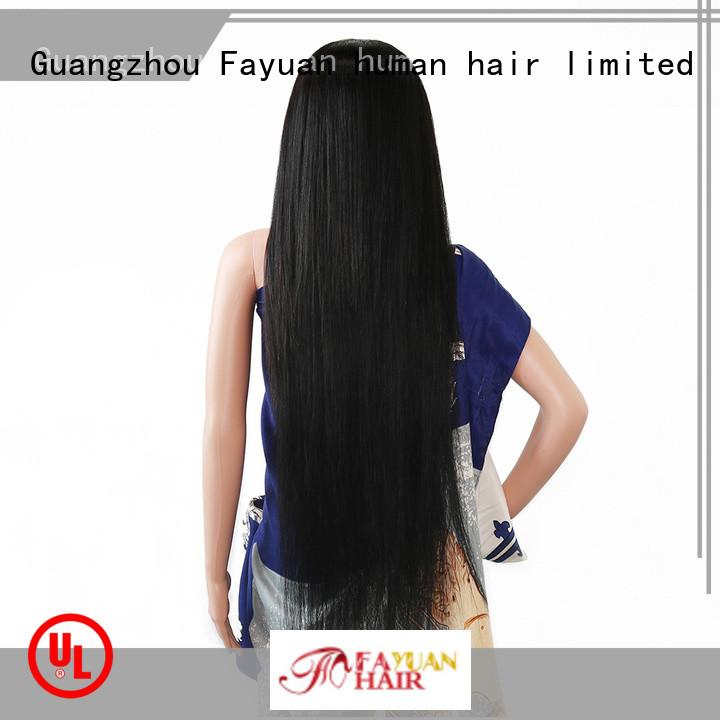 Fayuan Top custom made real hair wigs manufacturers for barbershop