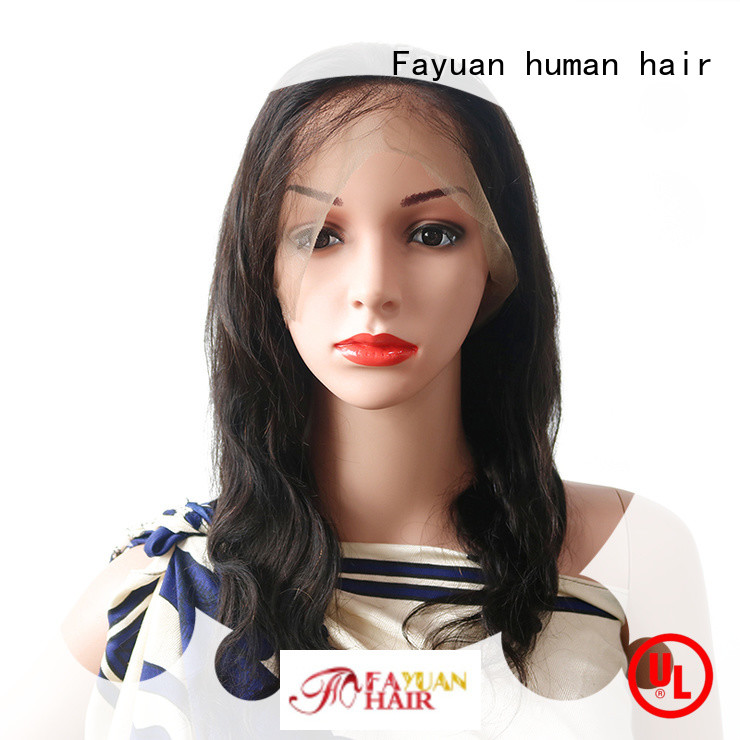 Fayuan brazilian natural full lace wigs Suppliers for street