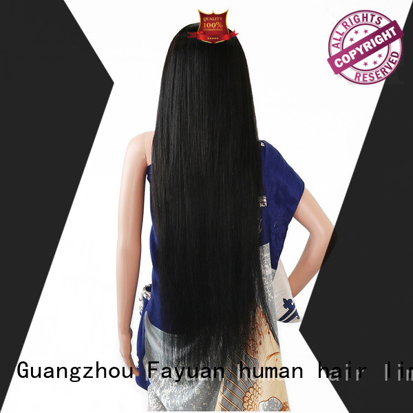 Fayuan Best custom hair wigs company for selling