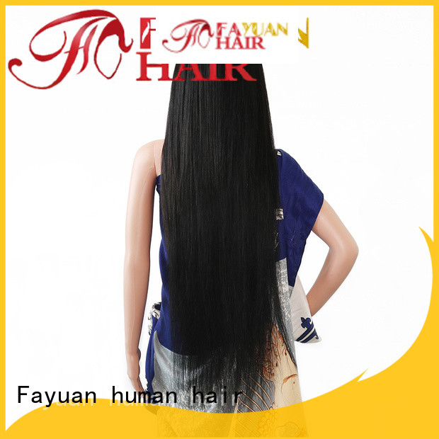 Best custom made wigs online straight Supply for selling