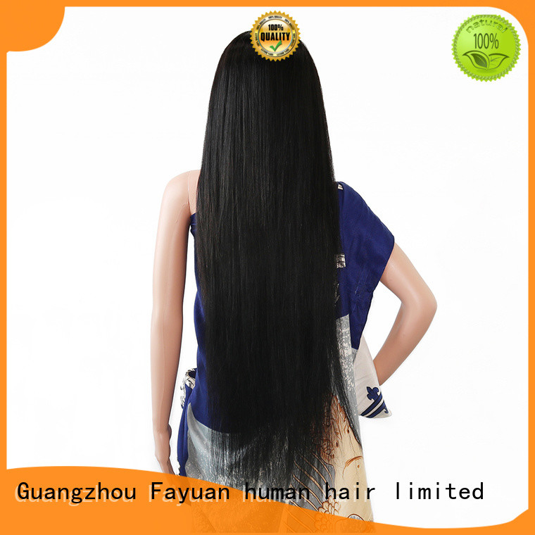 Fayuan virgin custom made human hair wigs manufacturers for men