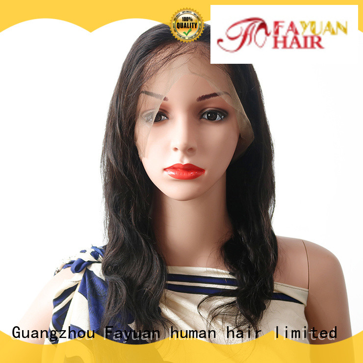 Fayuan virgin quality full lace wigs manufacturers for barbershop