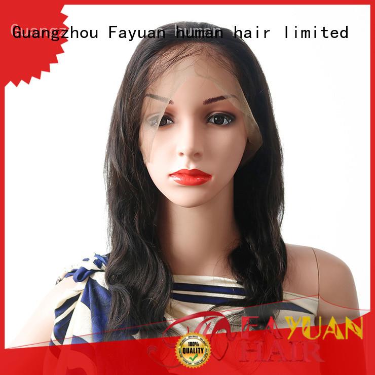 Fayuan Top full lace human hair manufacturers for women