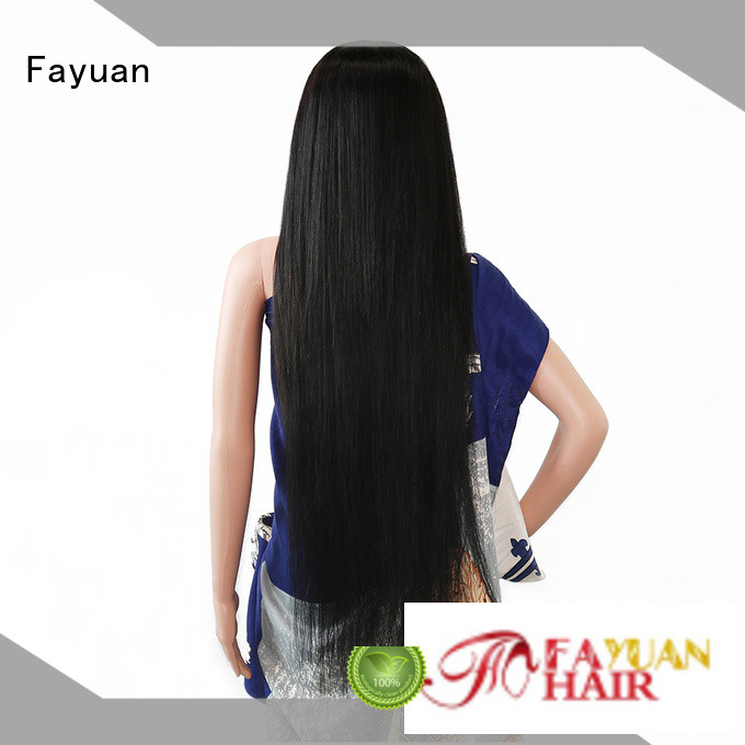 Fayuan hair custom made human hair wigs Supply for street