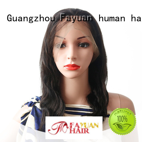 Fayuan High-quality full lace human wigs for business for street
