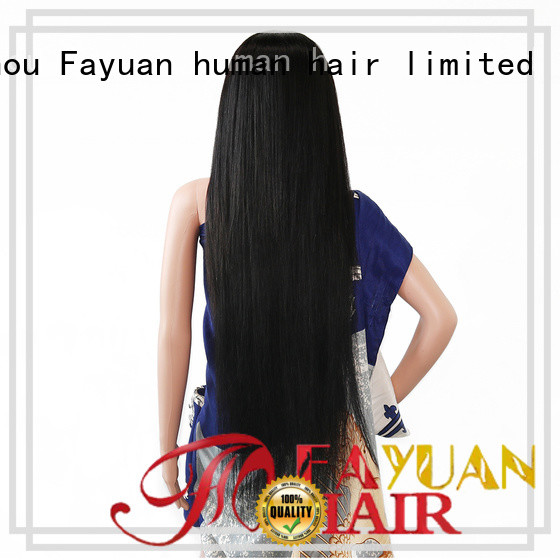 Fayuan Top custom lace wigs Suppliers for street