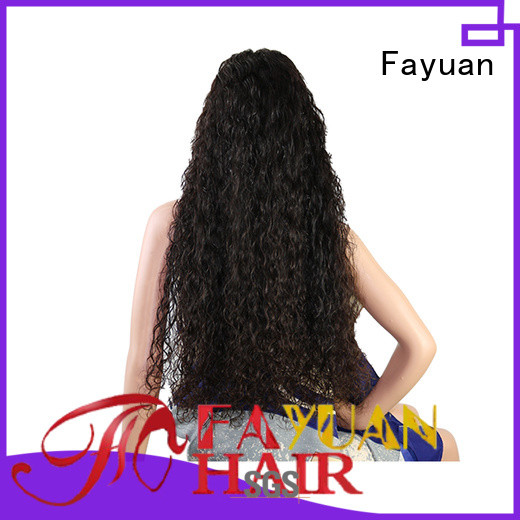 Fayuan Wholesale custom full lace human hair wigs for business for barbershop