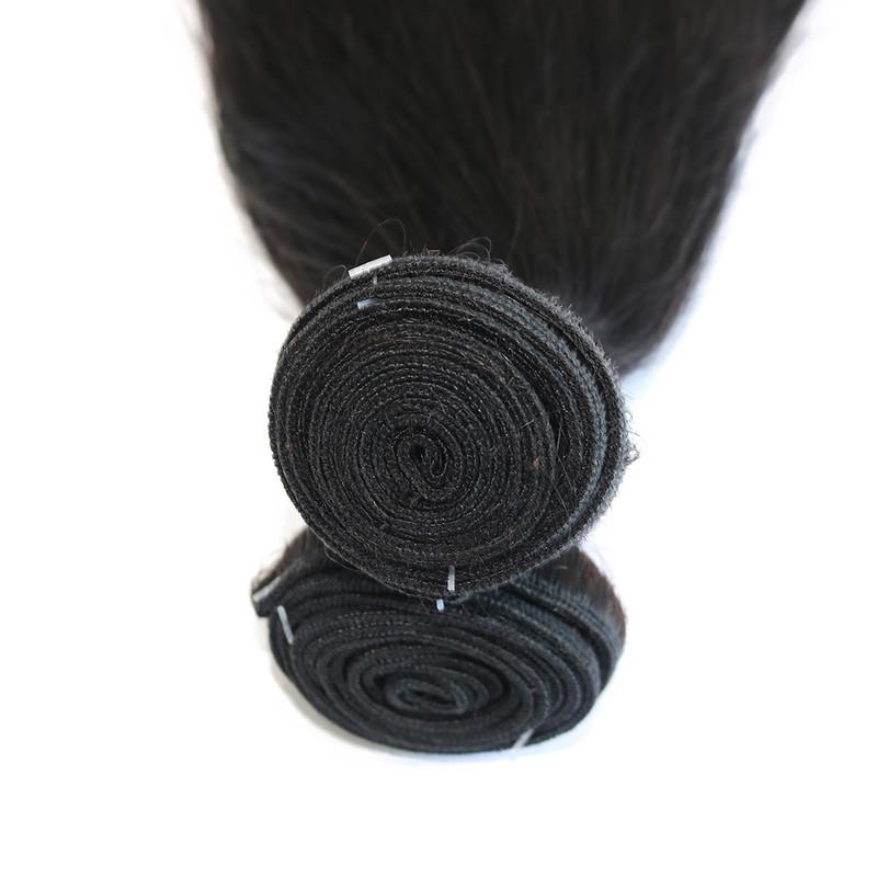 Malaysian straight virgin human hair bundle fayuan factory