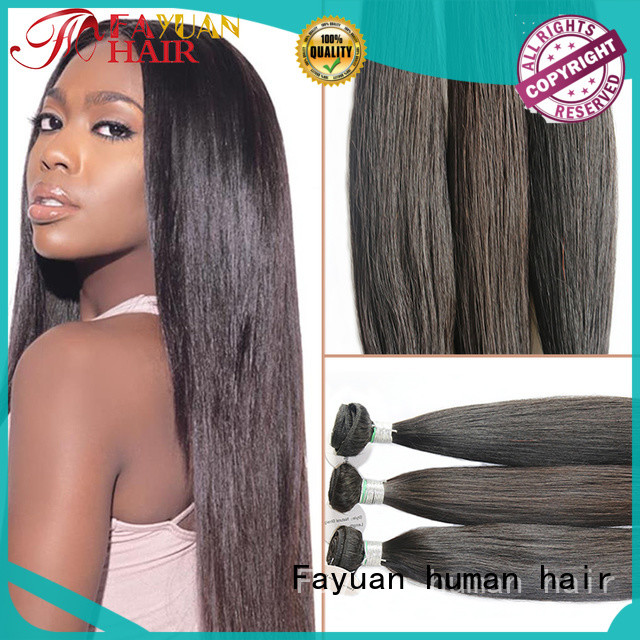 Fayuan full human lace wigs Suppliers for street